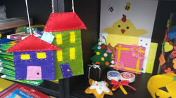 Art & Craft - Houses