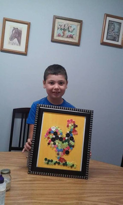 Art & Craft - puzzle work