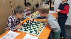 Chess class - practicing