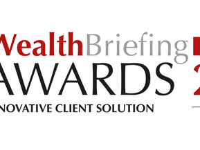 AM-One awarded 'Best Innovative Client Solution' at the WealthBriefing Swiss Awards 2018