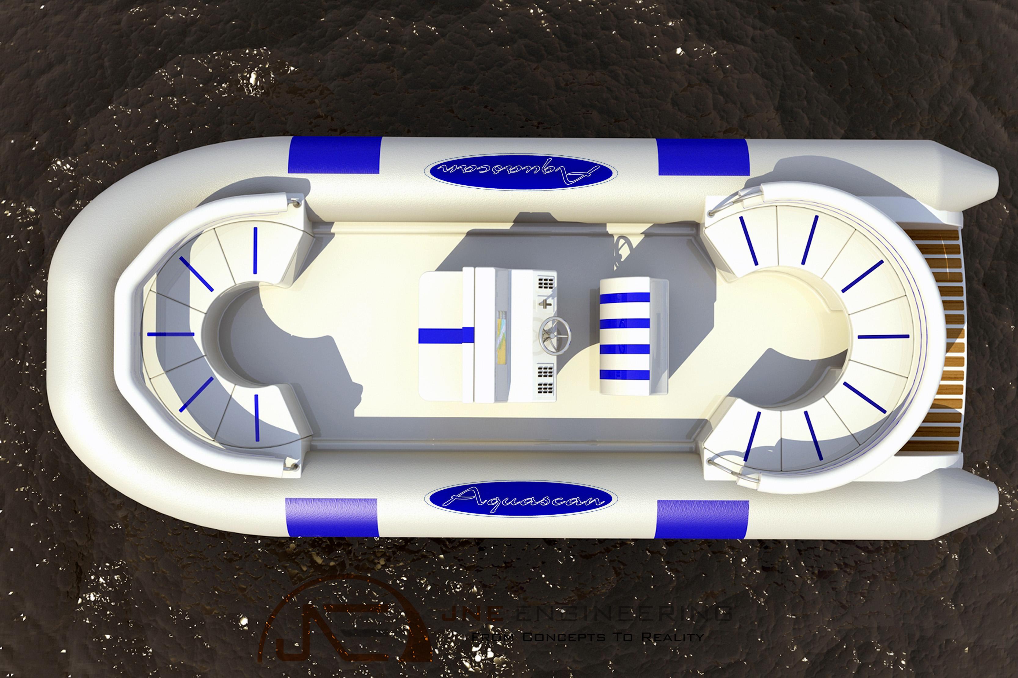 21ft AquaScan Tender