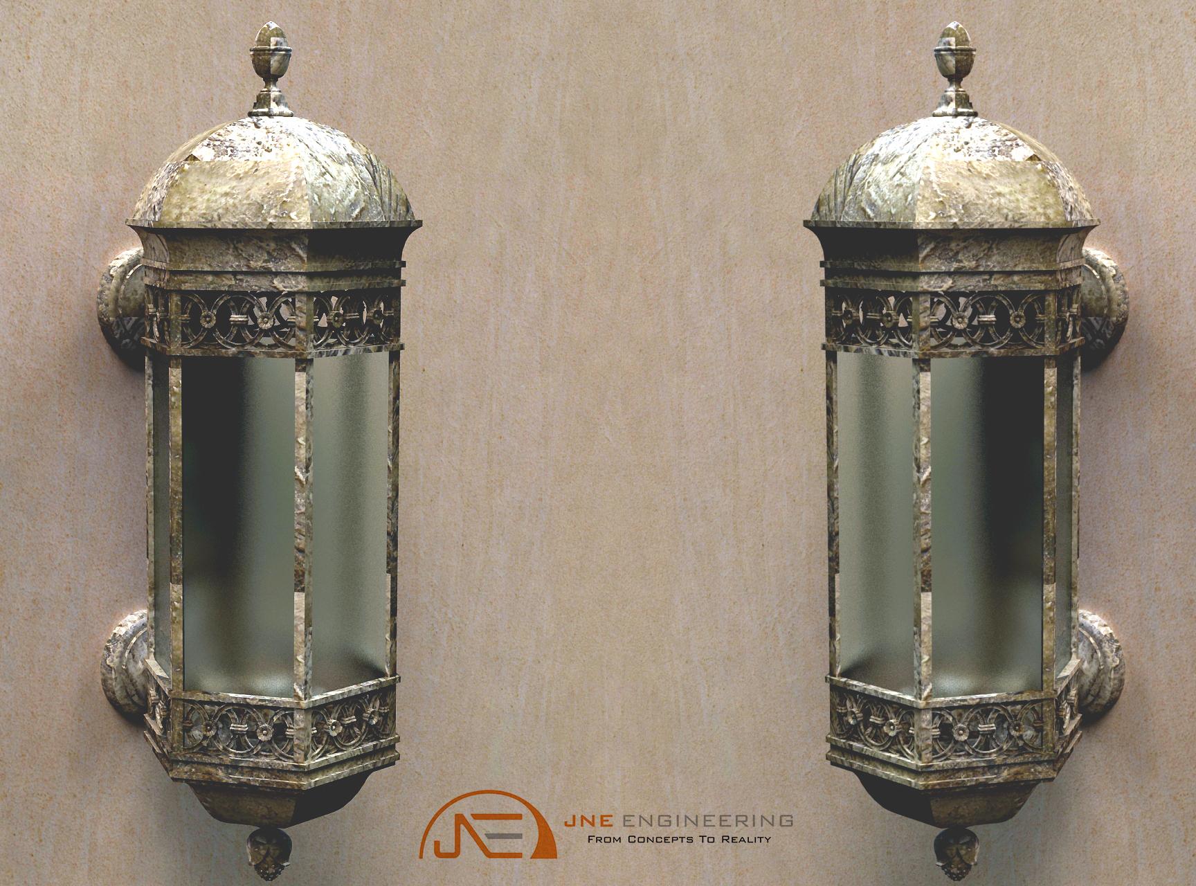 Custom 4ft Lamp
