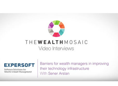Barriers for wealth managers in improving their technology infrastructure