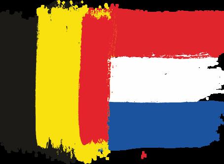 Hello Belgium and the Netherlands!