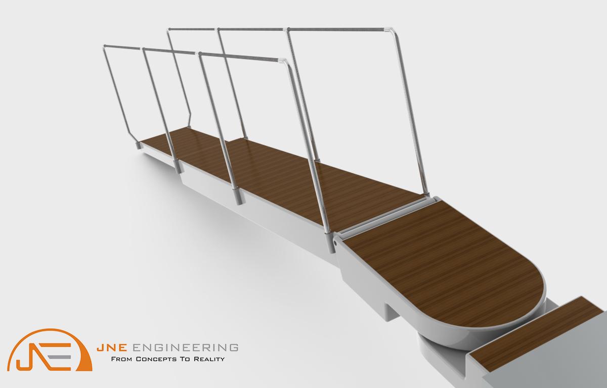 Hydraulic Gangplank