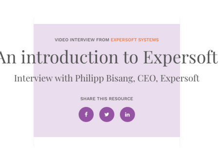 The Wealth Mosaic's new video interview series with Expersoft