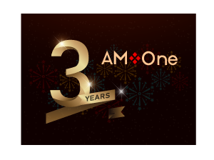 AM-One is celebrating: three years of incredible growth!