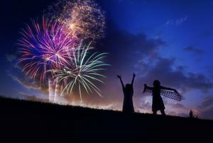 Fireworks in America