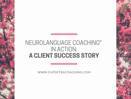 A Case Study of the Effectiveness of Neurolanguage Coaching®
