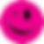 Pink smiley face.png