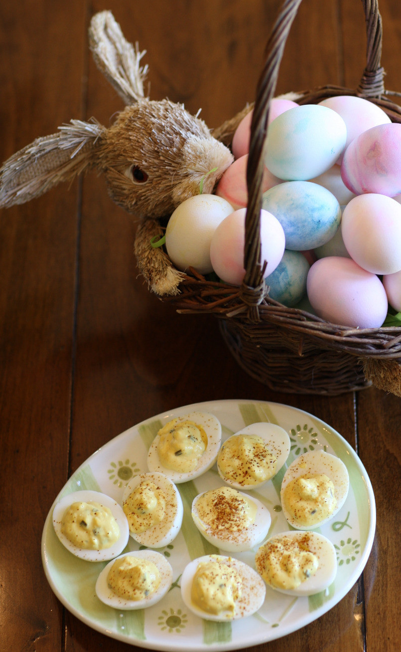 Easter eggs & deviled Eggs, 50, fabulous and finally free
