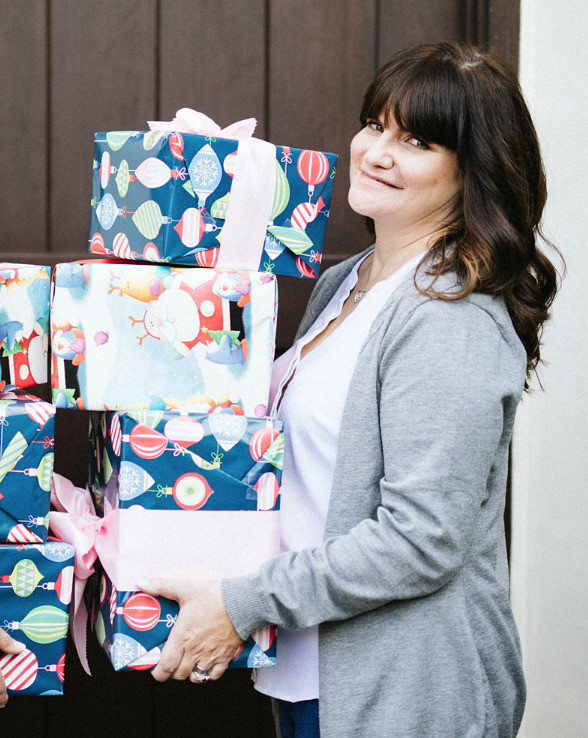 Women holding packages, 50, Fabulous & Finally Free