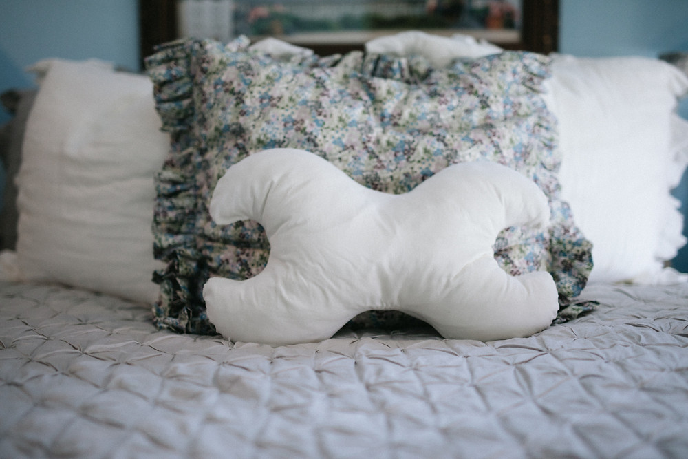 Pillow on bed, 50, Fabulous & Finally Free
