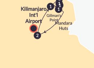 Rongai Kili Climb Map.png