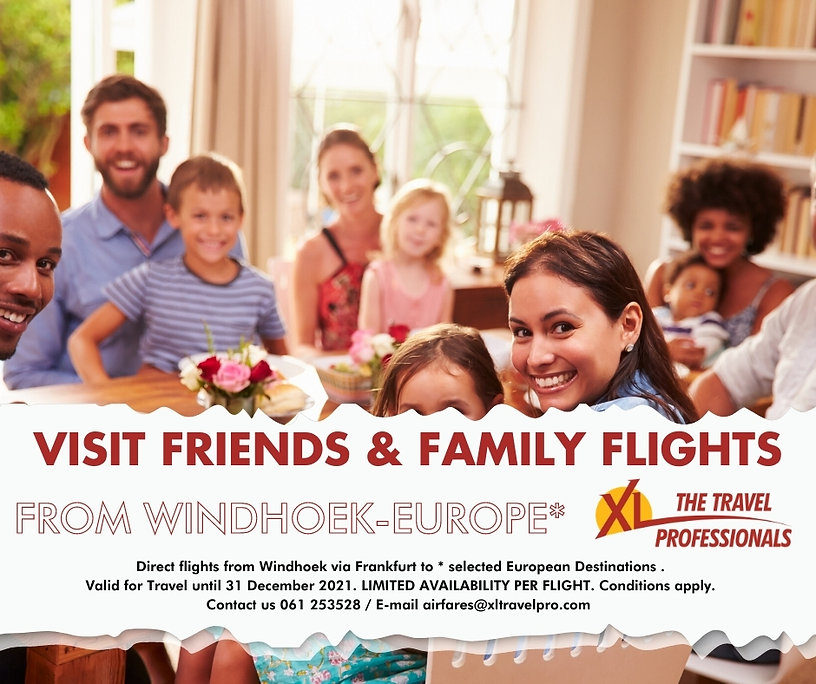 Visiti Friends and Family flights on Lufthansa Eurowings
