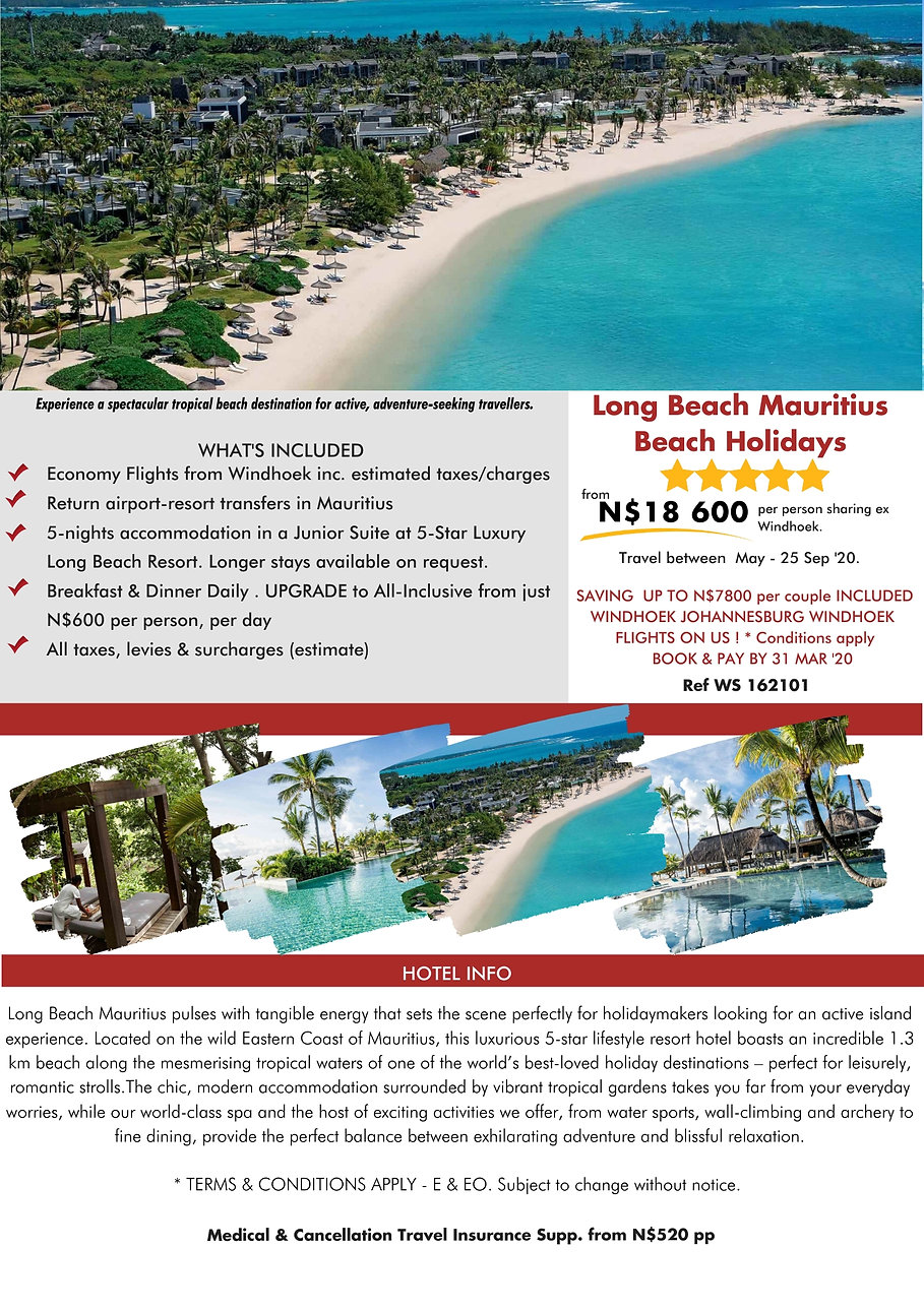 Long Beach Mauritius Beach Holidays