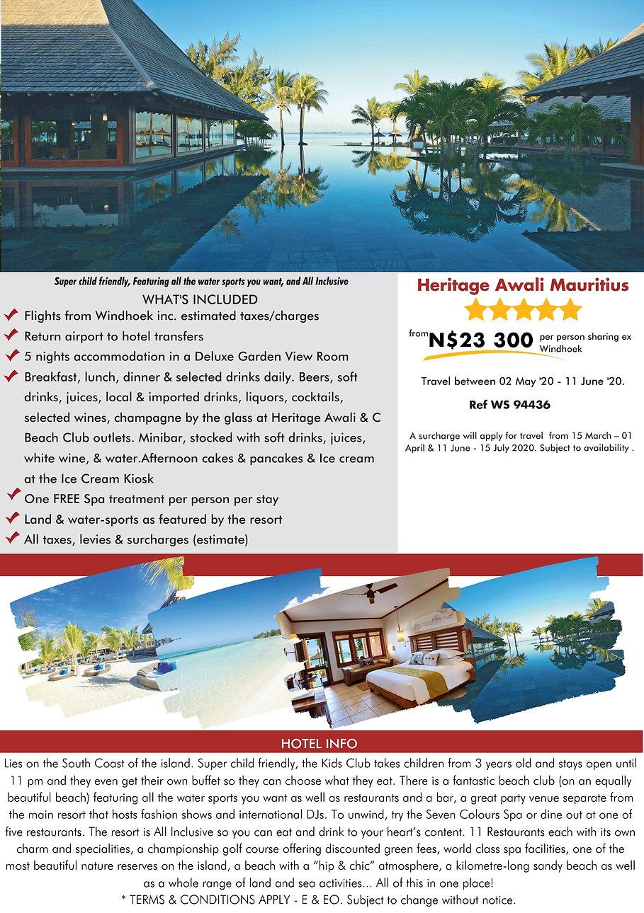 Heritage Awali Mauritius Beach Holidays