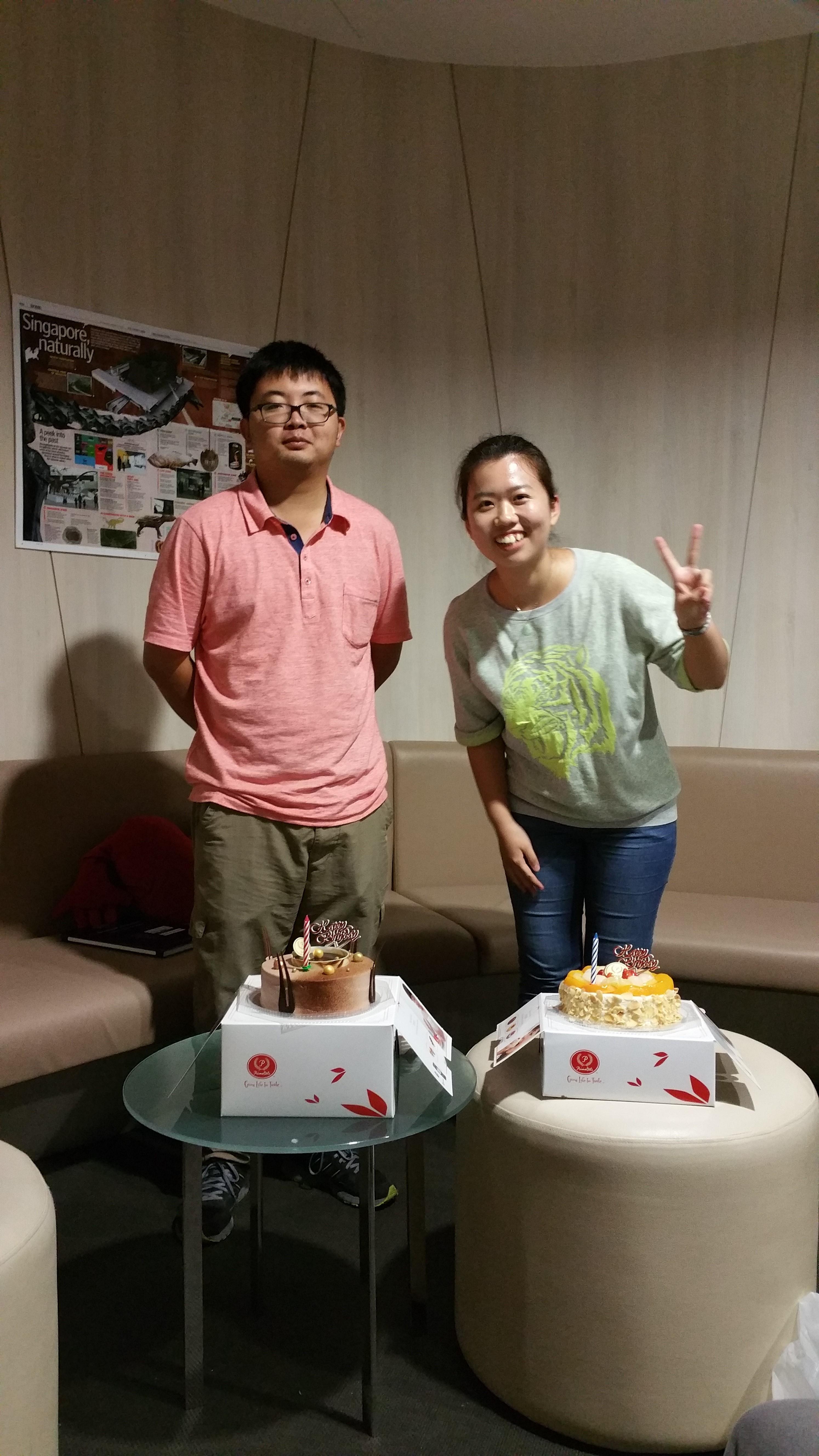 Xuanzi and Xingjian's Birthday