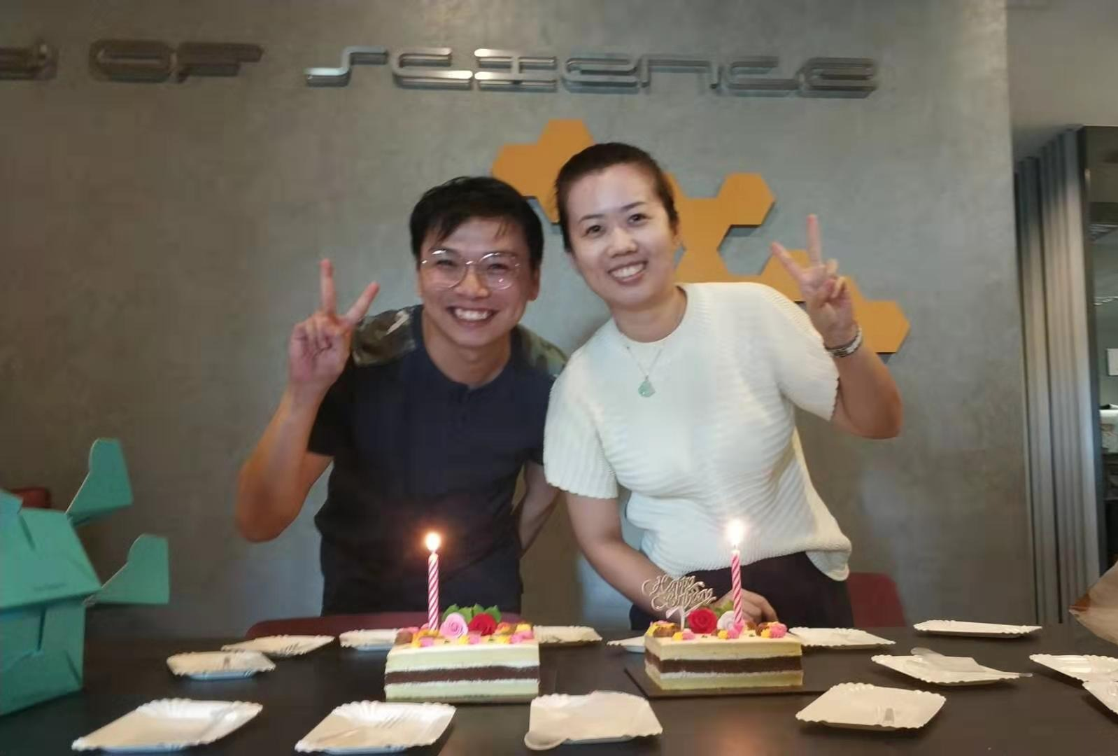 HBD for Ren Wei and Xuanzi
