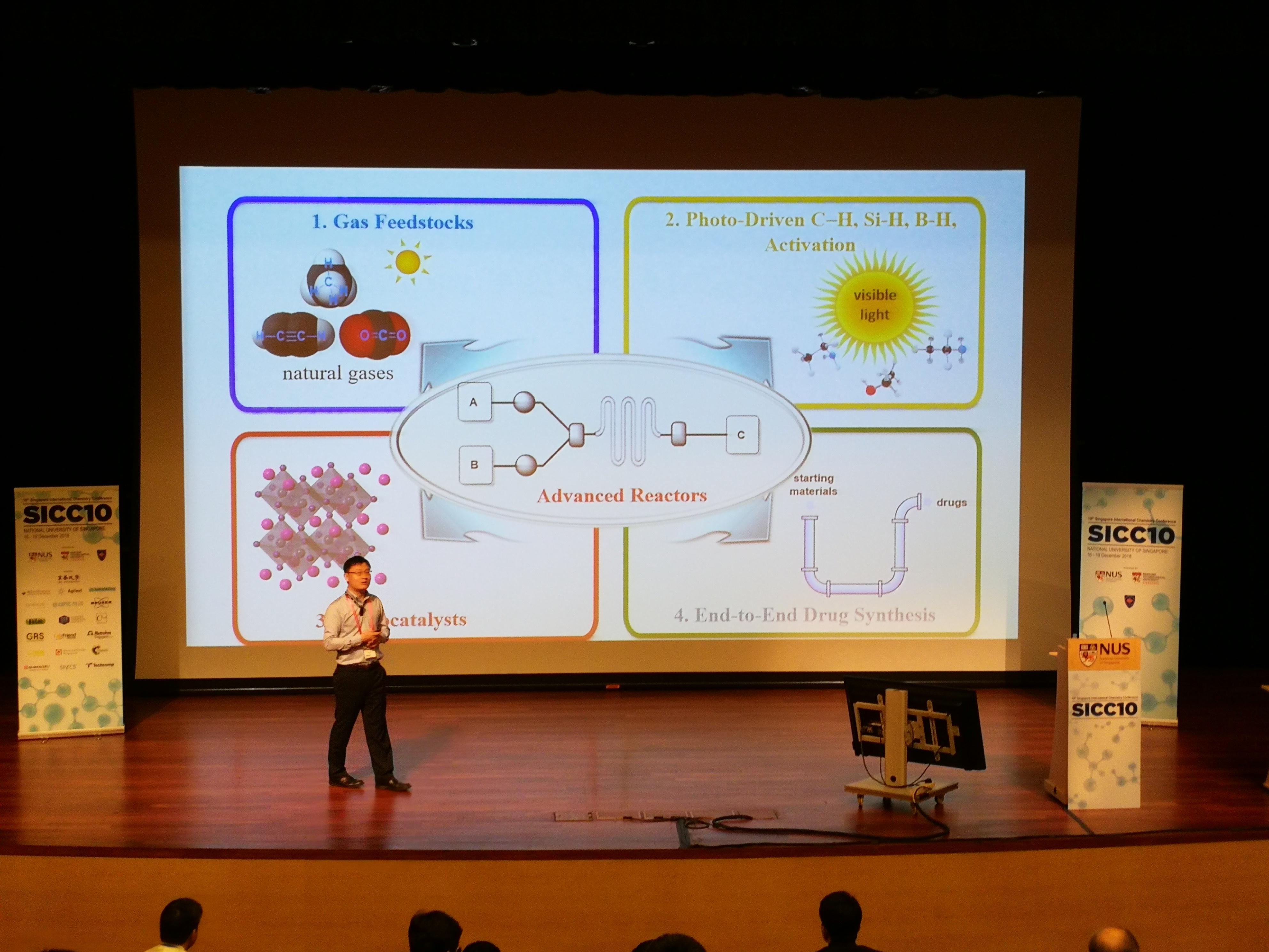 Prof. Wu @ SICC10