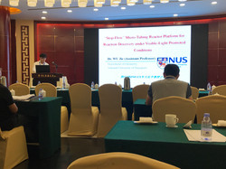 Invited talk on 13th SINO-US Organic Chemistry Conference