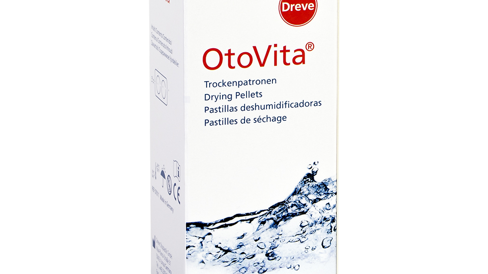OtoVita® 6 Drying Pellets/6 Pastilhas desumidificantes