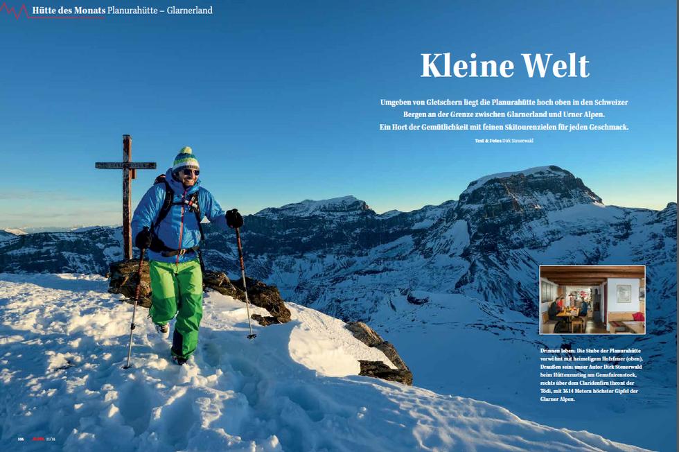 ALPIN-Hüttengeschichte 'Kleine Welt' (11/'16)