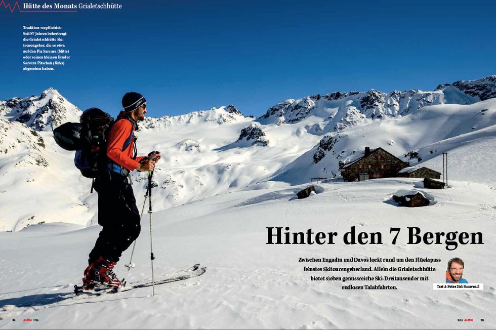 ALPIN-Hüttengeschichte 'Hinter den 7 Bergen' (2/'16)
