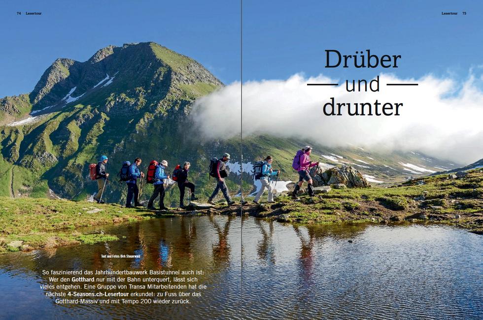 4seasons-Reportage 'Drüber und Drunter' (Sommer '16)