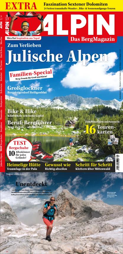 ALPIN-Titelgeschichte 'Unentdeckt', samt Titelbild (9/'17)
