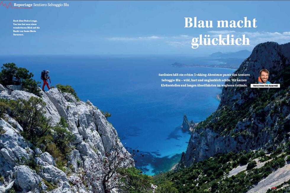 ALPIN-Reportage 'Blau macht Glücklich' (1/'16)