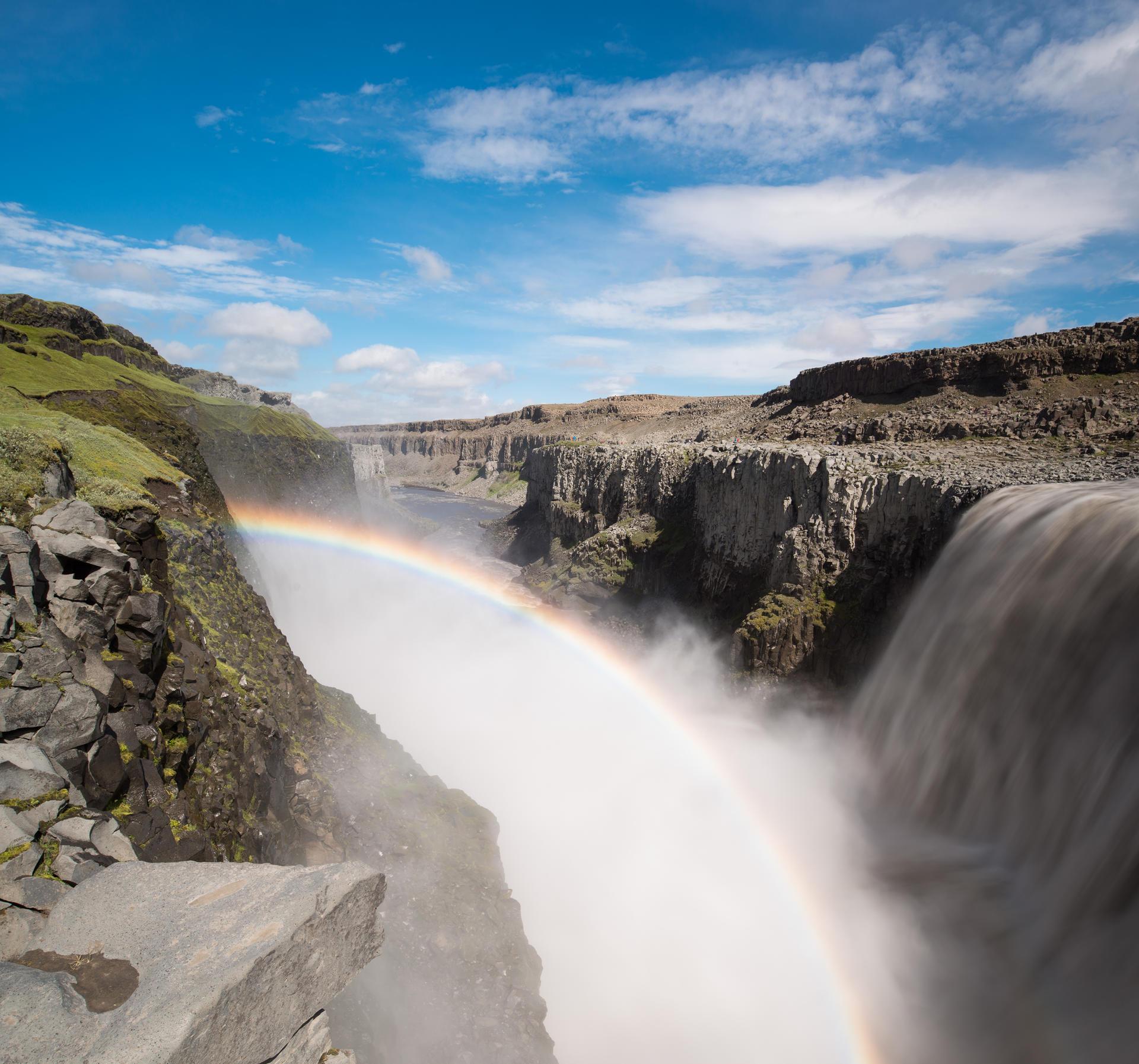 Wasserfallbogen