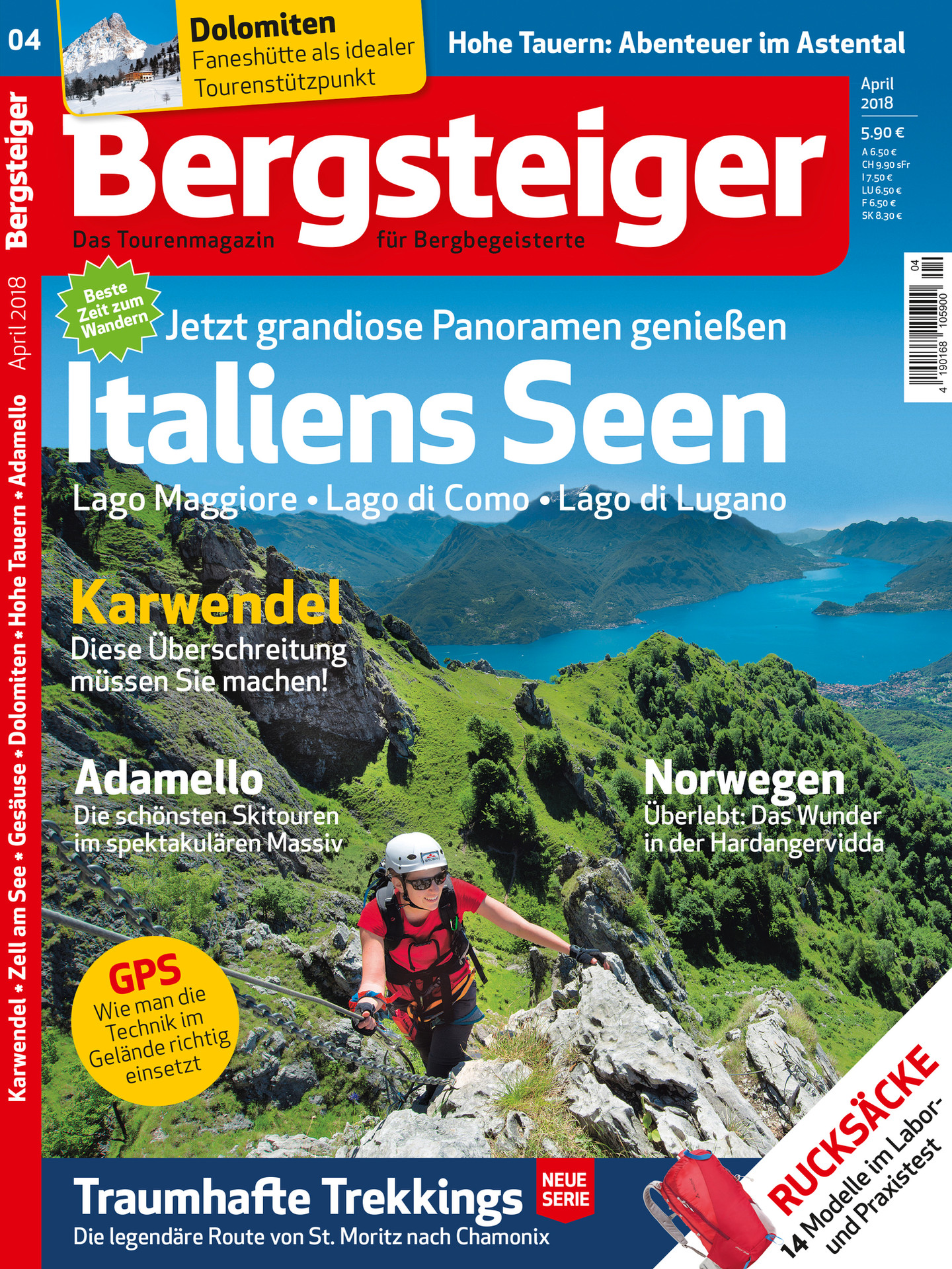 Bergsteiger 4/18: Titelbild
