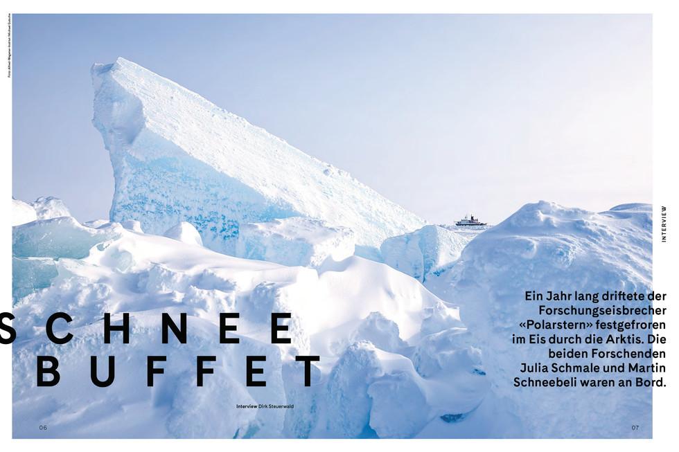 4seasons-Interview 'Schneebuffet' (Frühling '21)