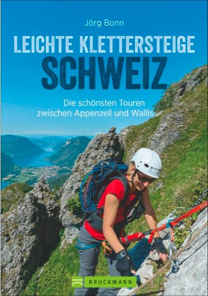 Titelbild auf dem Klettersteigführer Schweiz vom Bruckmann Verlag. Mehr Bilder von und Infos zu Klettersteigen am Comer See in der unten verlinkten Reportage im ALPIN ,Geschenk mit Weitblick'.