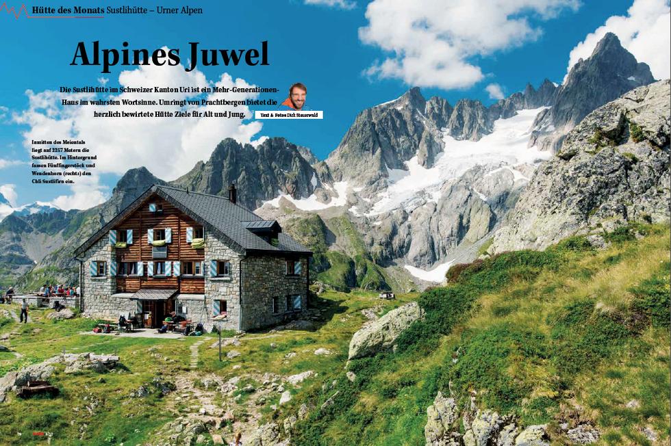 ALPIN-Hüttengeschichte 'Alpines Juwel' (06/'17)