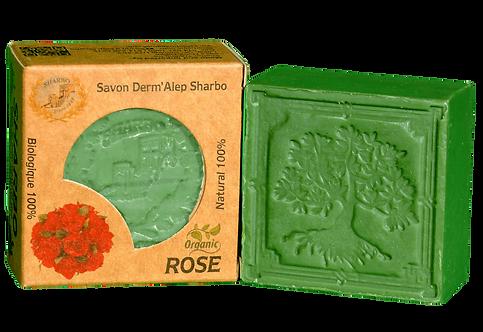 Aleppo Soap Rose 25% Laurel Oil 125g
