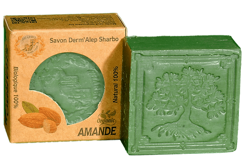 Aleppo Soap Amande/Almond 25% Laurel Oil 125g