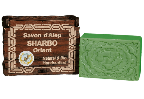 Aleppo Soap Wooden Box/Coffret en Bois - Multiple Options - 25% Laurel Oil 125g
