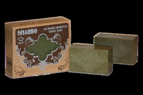Aleppo Soap Oriental Box Amber 25% Laurel Oil 125g