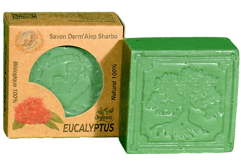 Aleppo Soap Eucalyptus 25% Laurel Oil 125g