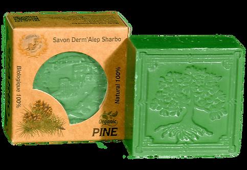 Aleppo Soap Pine/Pin 25% Laurel Oil 125g