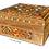 Thumbnail: Damascus Mosaic Box With 1 Incense (Oud) Bar of Aleppo Soap 125g 25% Laurel Oil