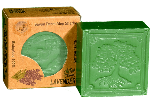 Aleppo Soap Lavender/Lavande 25% Laurel Oil 125g