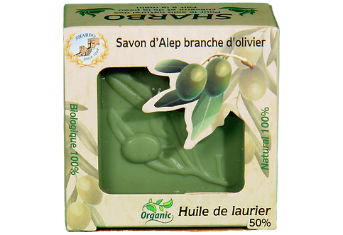 Aleppo Soap Laurel Leaf 50% Laurel Oil 165g