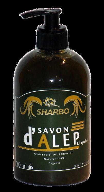 Aleppo Soap Liquid 30% Laurel Oil 500ml