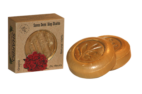 Aleppo Soap Roses 25% Laurel Oil 125g