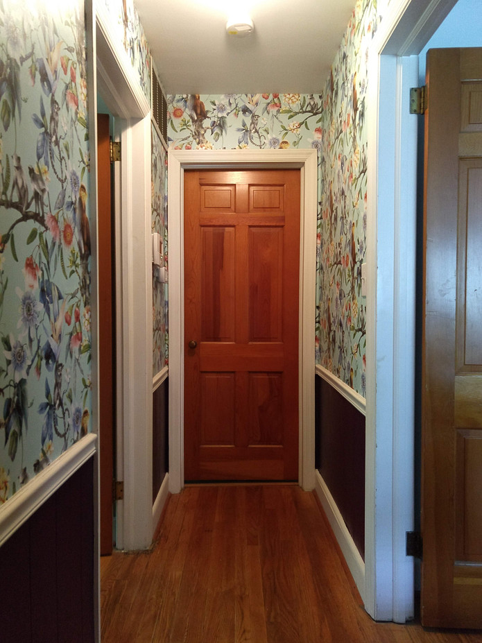 The wallpaper installed in my house