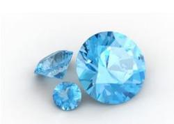Topaze bleu