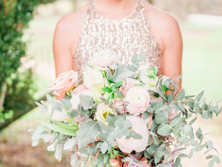 Blush and Gold Styled Shoot